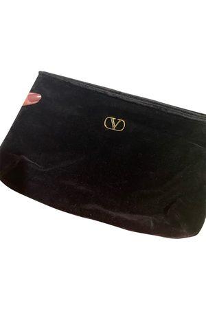 VALENTINO GARAVANI Velvet clutch bag
