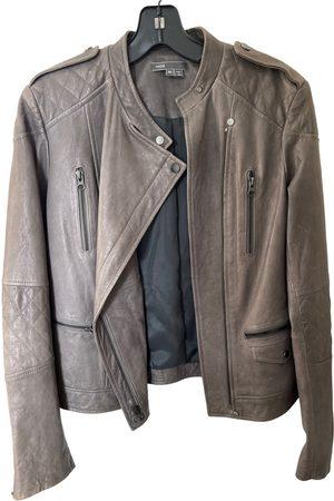 Vince Leather biker jacket