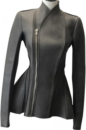 RICK OWENS LILIES Leather biker jacket