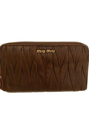 Miu Miu Leather clutch