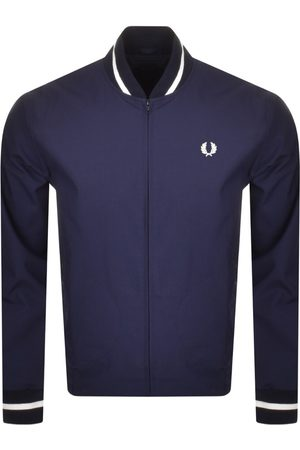 Fred Perry Men Bomber Jackets - Tennis Bomber Jacket Navy