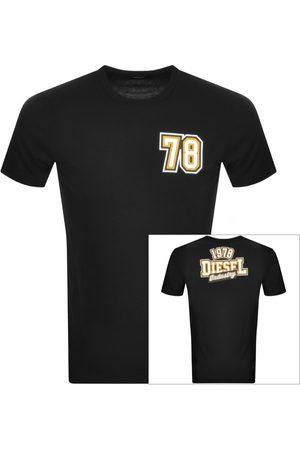 Diesel Men Short Sleeve - Diegos T Shirt Blue