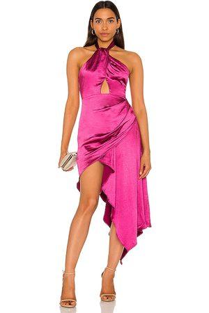 ELLIATT X REVOLVE Caroline Dress in Fuchsia.