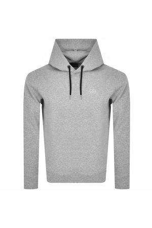 Armani Men Hoodies - Emporio Pullover Hoodie Grey