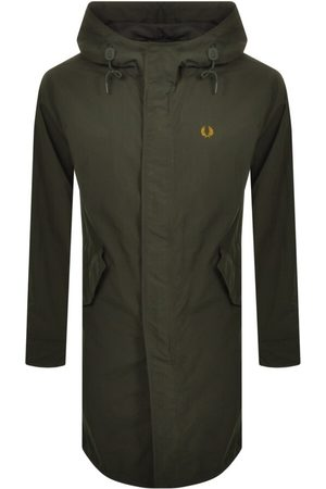 Fred Perry Hooded Shell Parka Jacket