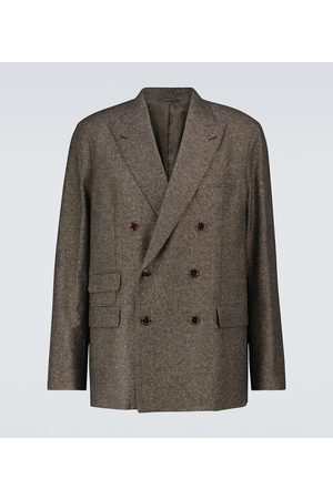 Acne Studios Double-breasted wool-blend blazer