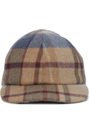 GABRIELA HEARST Plaid baseball cap