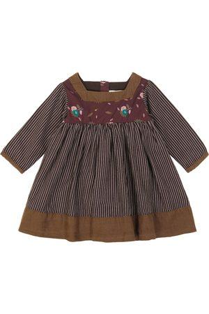 Caramel Baby Earth printed cotton dress