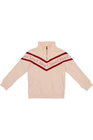 Chloé Logo cotton sweatshirt