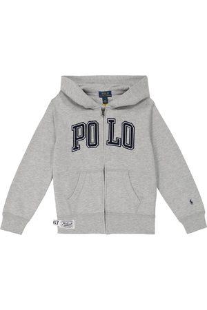 Ralph Lauren Logo fleece hoodie
