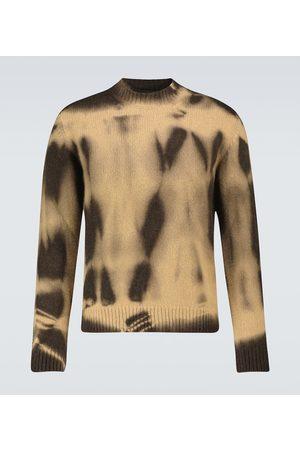 Alanui Atacama tie-dye printed sweater