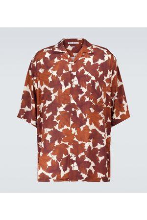 Acne Studios Printed short-sleeved shirt