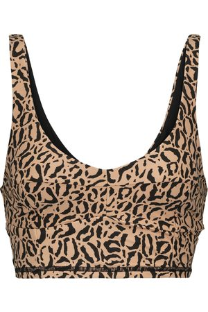 The Upside Candice leopard-print sports bra