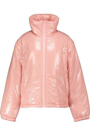 Acne Studios Face high-neck puffer jacket