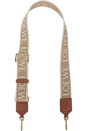 Loewe Anagram jacquard wallet strap