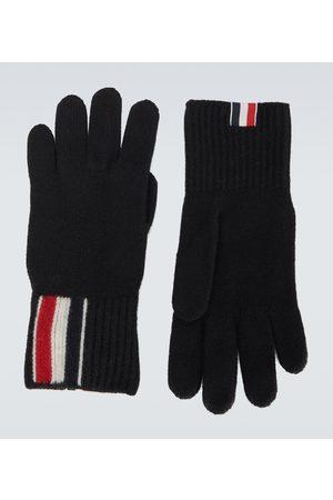 Thom Browne Merino wool gloves