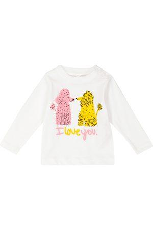 Stella McCartney Baby printed cotton-jersey top