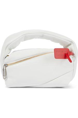 OFF-WHITE Pump Pouch leather shoulder bag