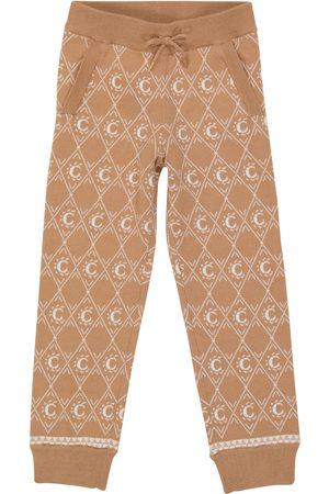 Chloé Jacquard cotton-blend sweatpants