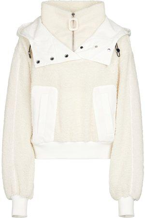 J.W.Anderson Hooded fleece jacket