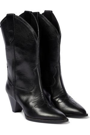 Isabel Marant Luliette leather cowboy boots