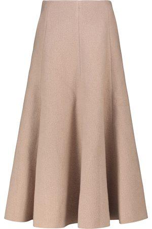 GABRIELA HEARST Maureen high-rise pleated midi skirt