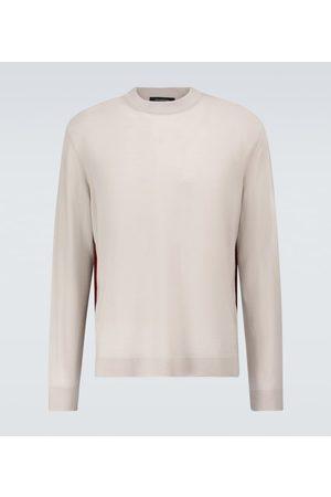 Ermenegildo Zegna Wool, cashmere and silk crewneck sweater