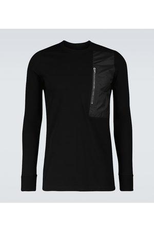 Rick Owens Long-sleeved Pocket Level T-shirt