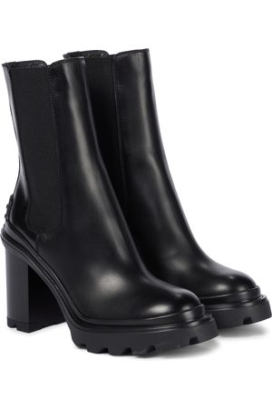 Tod's Pump leather Chelsea boots