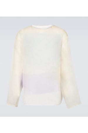 OAMC Tribute long-sleeved silk top
