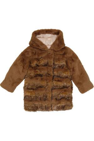 Chloé Girls Jackets - Faux fur coat