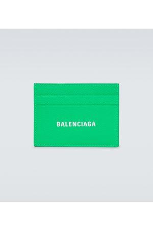 Balenciaga Cash leather cardholder