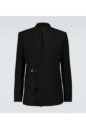 Givenchy Padlock wool double-breasted blazer