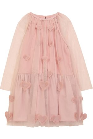 Stella McCartney Baby Dresses - Embroidered tulle dress