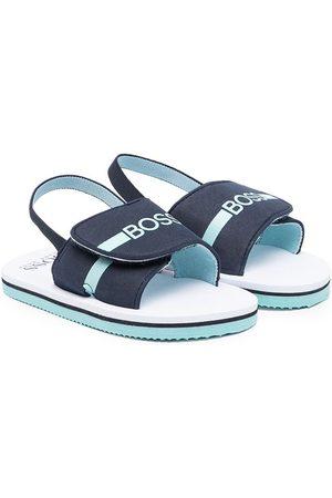 HUGO BOSS Sandals - Logo-print sandals