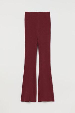 H&M Women Sweats - Ribbed Leggings