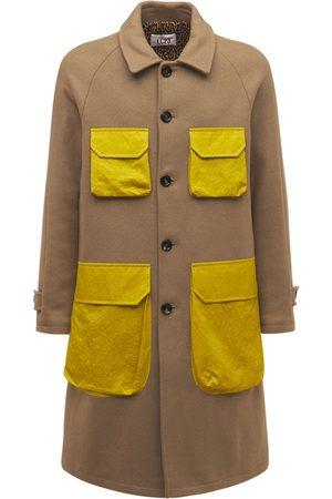 Lc23 Wool & Nylon Coat