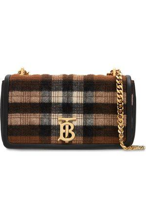 Burberry Women Shoulder Bags - Small Lola Check Shoulder Bag