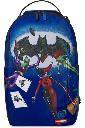 Sprayground Boys Rucksacks - Batman Print Canvas Backpack