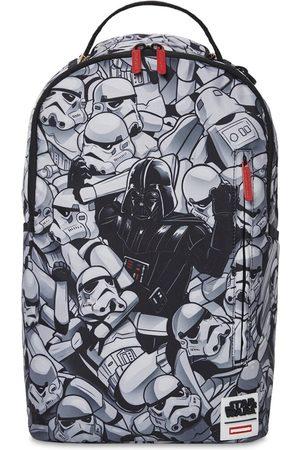 Sprayground Boys Rucksacks - Star Wars Print Canvas Backpack