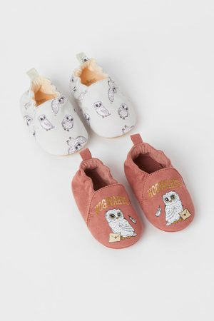 H&M Kids Slippers - 2-pack Soft Slippers