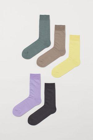 H&M Men Socks - 5-pack Socks