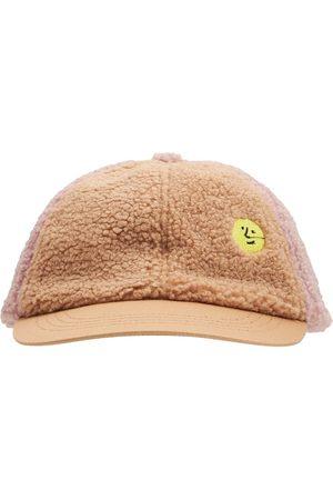Bobo Choses Boys Hats - Recycled Faux Fur Baseball Hat