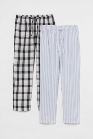 H&M 2-pack Cotton Pajama Pants