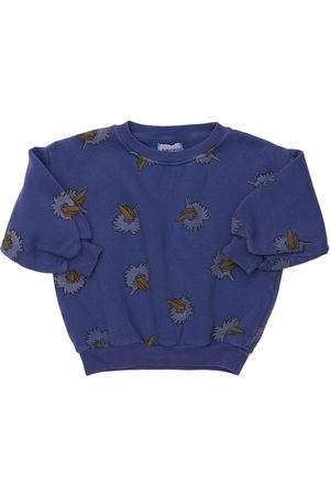 Bobo Choses Boys Sweatshirts - Printed Organic Cotton Sweatshirt