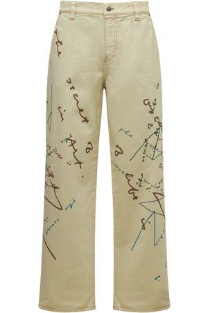 J.W.Anderson Oscar Wilde Denim Twill Straight Jeans