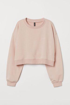 H&M + Crop Sweatshirt
