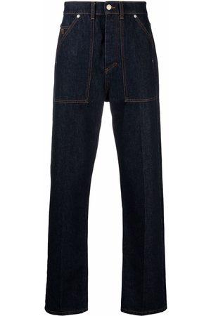 Nanushka Men Straight - Straight-leg denim jeans