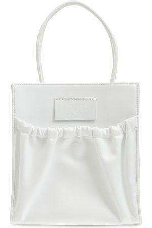 MM6 MAISON MARGIELA Women Shoulder Bags - Inside-out Faux Leather Shoulder Bag
