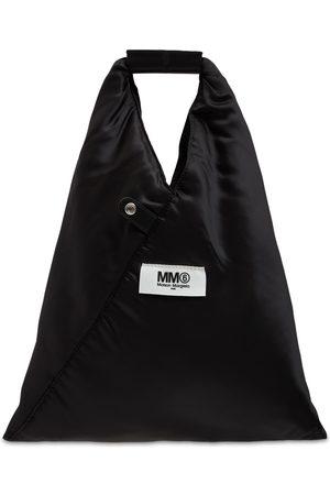 MM6 MAISON MARGIELA Women Tote Bags - Small Japanese Reversible Viscose Tote